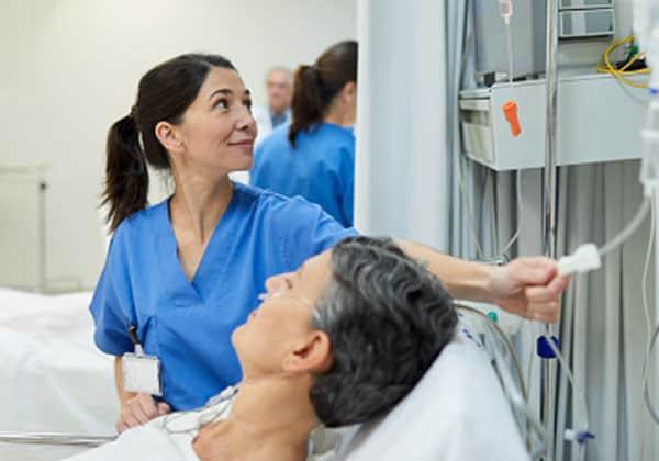 Zeitarbeitsfirmen medizinisches Personal – Fachkraft bei der Arbeit